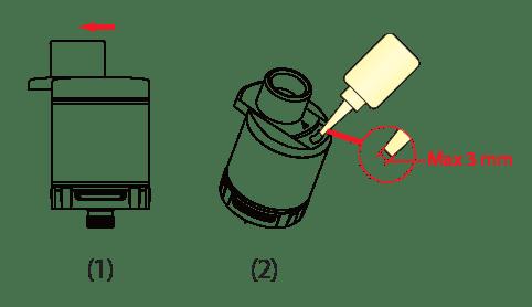 Comment remplir sa chicha électronique ?